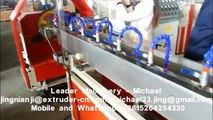 Leader Brand  PVC steel wire reinforced  hose pipe extrusion machine