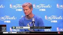 Steve Kerr on Draymond Green's Suspension  Cavaliers vs Warriors - Game 5  2016 NBA Finals