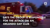 ISIS claims responsibility for Orlando mass shooting