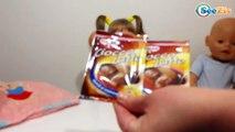Кукла Беби Борн. Девочка Ника делает маску из шоколада. Видео для девочек. Bath time. Tiki Taki Nika