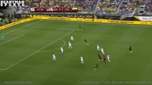 James Rodriguez simulation and injury. USA - Colombia 0-2 03.06.2016 Copa America)