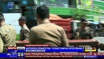 Jelang Lebaran, Pedagang Pasar Tumpah di Brebes Ditertibkan