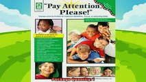 best book  Pay Attention Please Games and Activities to Improve Attention Focus  Listening Skills