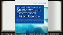 best book  Identifying and Assessing Students with Emotional Disturbance
