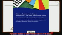 read now  Parents Guide to the Common Core 5th Grade