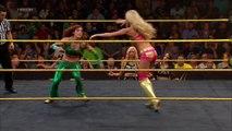 sexy Becky Lynch vs. Summer Rae- WWE NXT, June 26, 2014