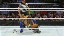 sexy Kaitlyn & Layla vs. Tamina & Aksana- SmackDown, Feb. 22, 2013