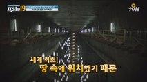 입이 떡! 120m 언더월드 테마파크