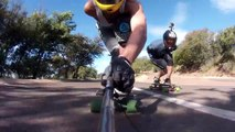 Afternoon Downhill Skate session @ Voortrekker Monument