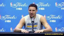 ESPN First Take - Stephen Curry, LeBron James, Klay Thompson, Kyrie Irving, Steve Kerr... Interview
