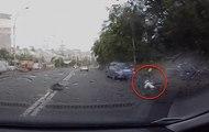 Un homme survit à un incroyable accident
