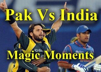 Magic Moments of India vs Pakistan cricket Persents By Cricket World