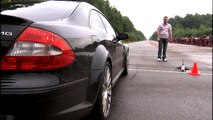 Moscow Unlim 500: Audi RS6 vs Mercedes CLS55 AMG