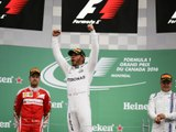 Classements du Grand Prix F1 du Canada 2016 - Infographie