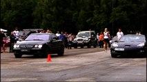 680 hp Mercedes CL65 AMG VS. Chevrolet Corvette Z06. Unlim 500+