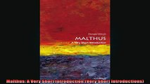 READ book  Malthus A Very Short Introduction Very Short Introductions  FREE BOOOK ONLINE