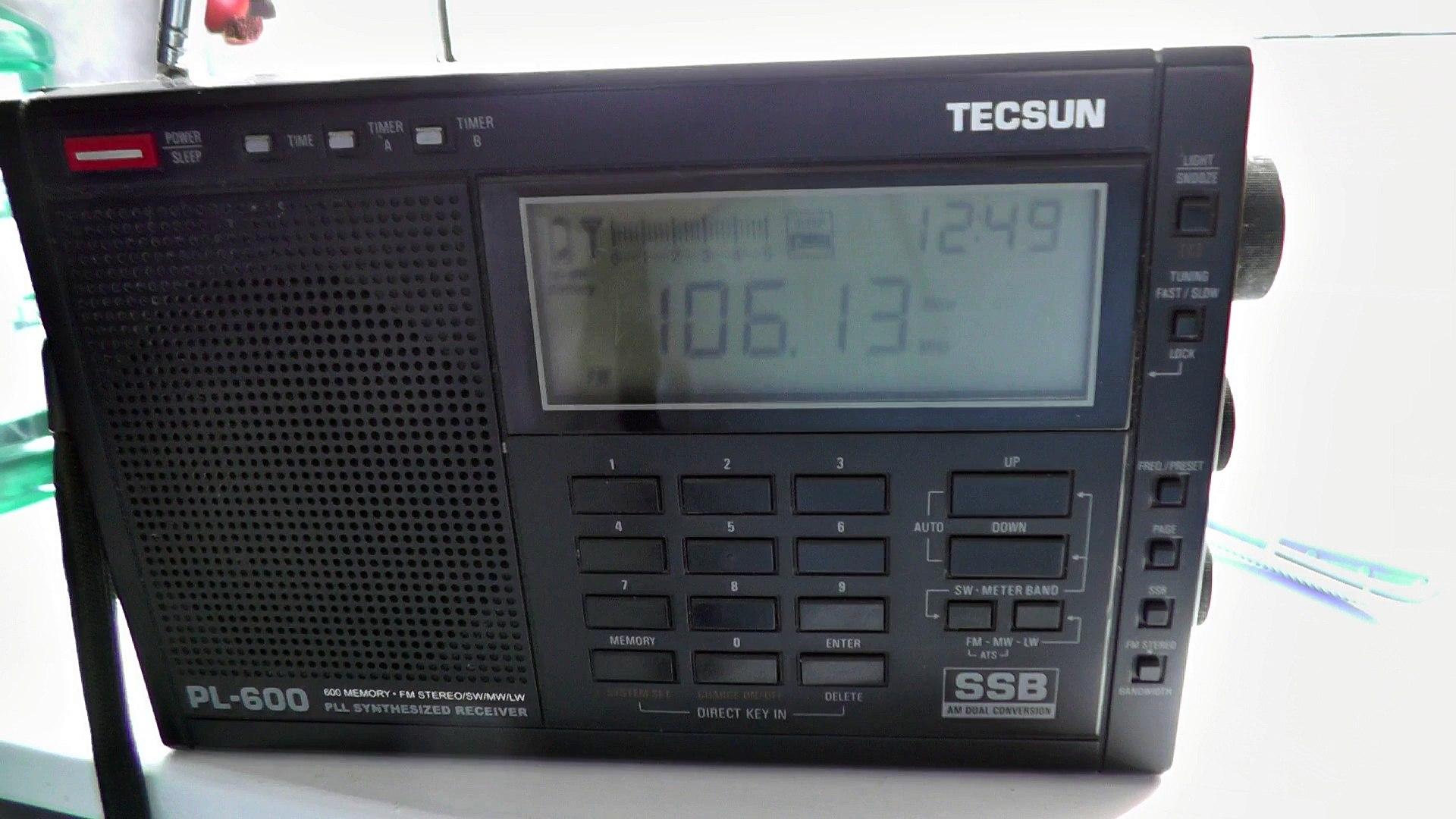 Insane Dutch FM Tropo in Clacton Essex Station Radio Beach on 106.1 FM Nieuwpoort ID