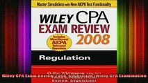 READ book  Wiley CPA Exam Review 2008 Regulation Wiley CPA Examination Review Regulation Full Free