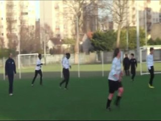 Racing-CA Paris 28-0 : quelques buts