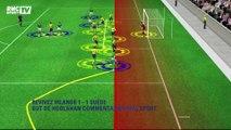 Irlande-Suède (1-1) : le but d'Hoolahan et de Clark avec le son de RMC Sport