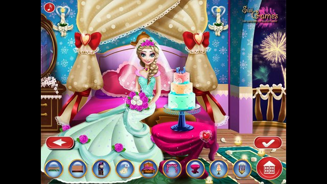 Elsa Wedding Honey Room Beautifull Disney Princess Elsa Frozen Full HD 1080p