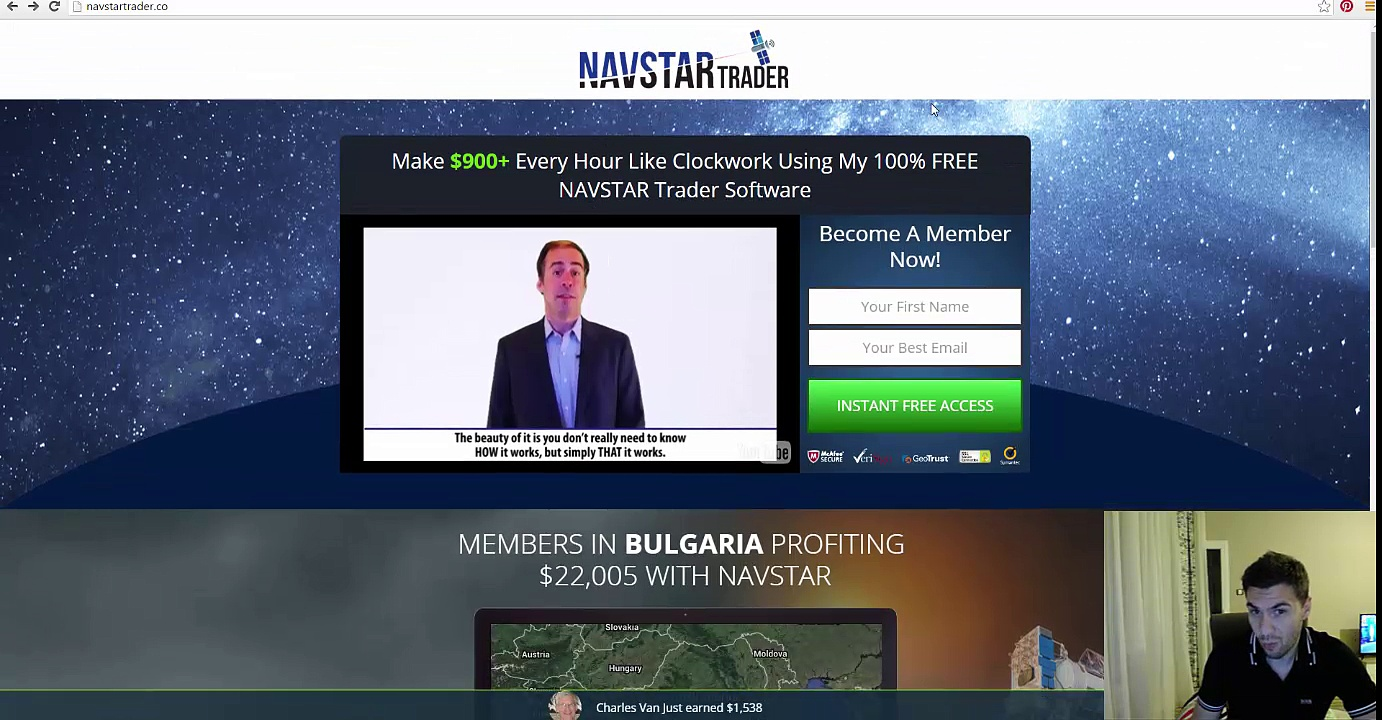 Navstar trader is a scam!