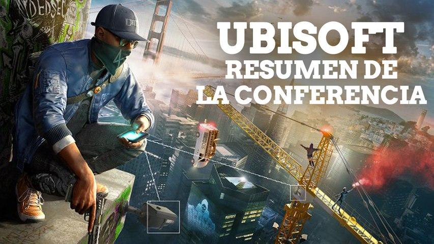 E3 2016 - Resumen conferencia Ubisoft