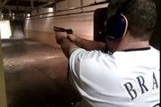 Glock 23 vs CZ-75 double guns