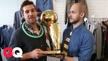 Who Won the NBA Championship Trophy? Not GQ's Style Guy, That's For Sure