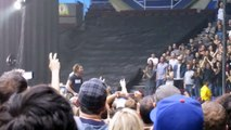 Eddie Handing Out Tambourines - Pearl Jam Vancouver BC 09/25/11
