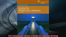 FREE PDF  The Foundation Centers Guide to Proposal Writing  BOOK ONLINE