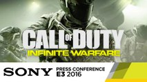Official Ship Assault Gameplay - E3 2016 Sony Press Conference - Call of Duty: Infinite Warfare
