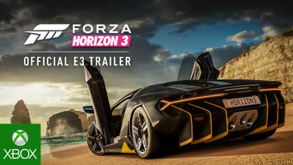 Forza Horizon 3 Official E3 Trailer