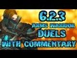 Evylyn - 6.2.3 Arms Warrior Dueling commentary & Merry Christmas all!! - WOW WOD PVP duels