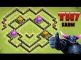 Clash Of Clans - NEW UPDATE - TH7 Farming Base - TH7 Trophy Base | HYBRID BASE DEFENSE