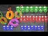Coronas Navideñas con Gomitas - Rainbow Loom