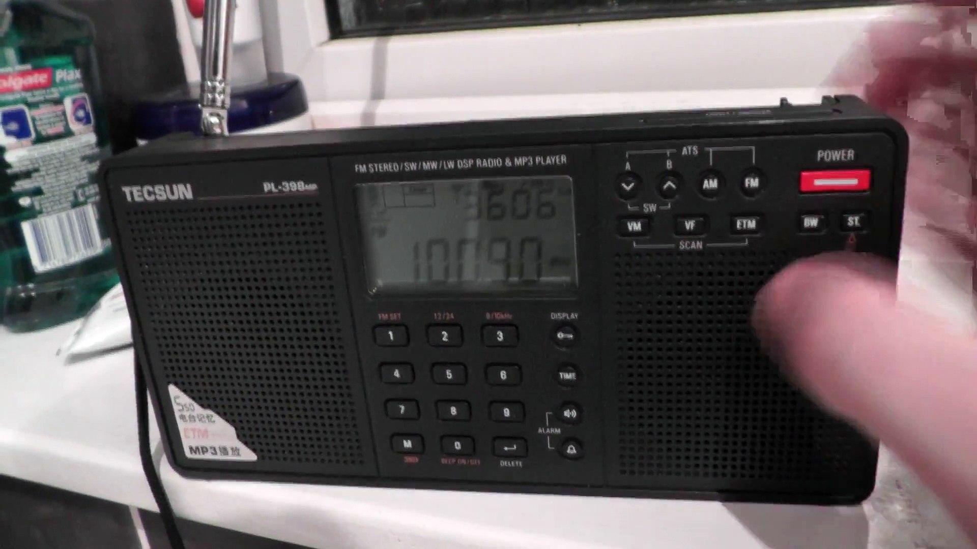 Insane Dutch FM Radio Tropo Studio Brussel station over Classic FM 100.9 picked up in Clacton_
