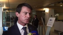 """Magnanville: pour Valls, """"il est temps que chacun fasse corps autour de ces fonctionnaires de police"""""""