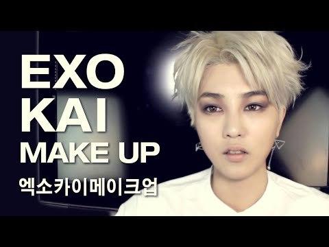 (ENG) 엑소 카이 메이크업 EXO KAI cover makeup tutorial | SSIN