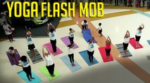 Yoga Flash Mob | Mumbai Yoga Fest - R City Mall in Ghatkopar | Mumbai