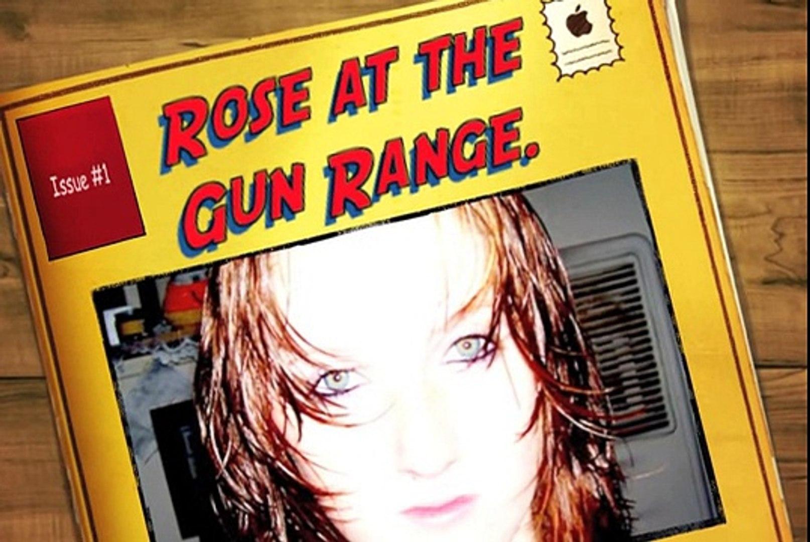 Daughter shooting AR15-22 & Baby Eagle aka Jericho 941