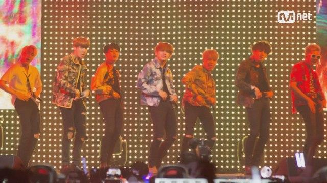 [KCON 2016 France×M COUNTDOWN] 방탄소년단 (BTS) _ 불타오르네 (Fire)