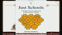 favorite   Just Schools A Whole School Approach to Restorative Justice