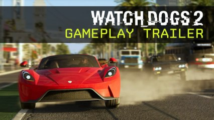 Watch Dogs 2 - Gameplay Trailer - E3 2016 [IT]