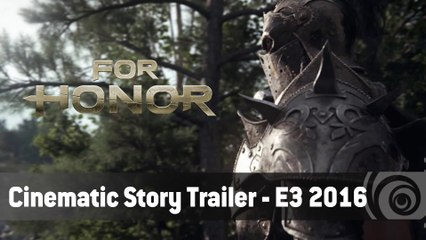 For Honor – Cinematic Story Trailer – E3 2016 [IT]