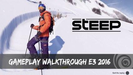 STEEP - Gameplay Walkthrough E3 2016 [IT]