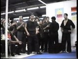 Ecole du tigre volant Démonstration de kung-fu taichi au Salon des Arts martiaux Parc floral Paris- Partie 2.