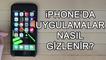 iPhone'da Uygulamalar Nasıl Gizlenir?   9.3 - 9.3.1