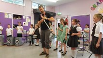 St Patrick's P.S. Year 4 Samba Club End of Year Concert 13.06.16