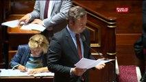 Loi travail:  passe d'armes entre Jean-Baptiste Lemoyne et les sénateurs communistes